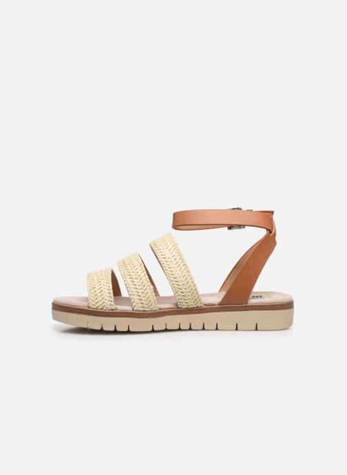 Sandales et nu-pieds MTNG 58953 Beige vue face
