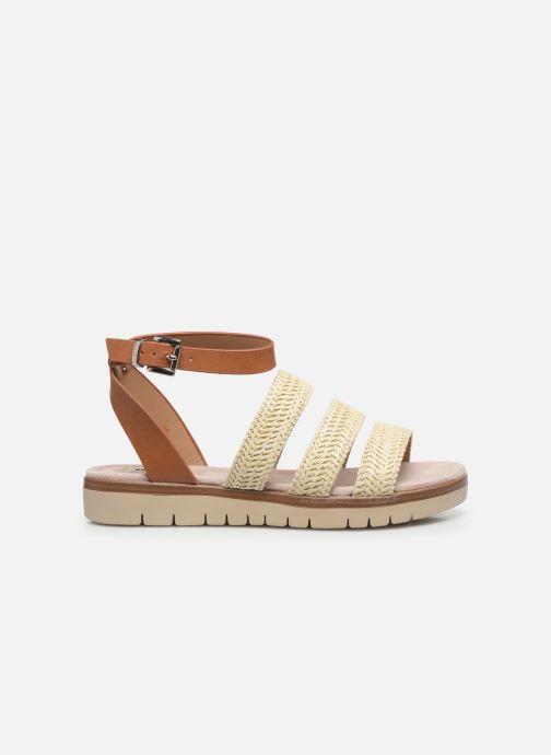 Sandales et nu-pieds MTNG 58953 Beige vue derrière