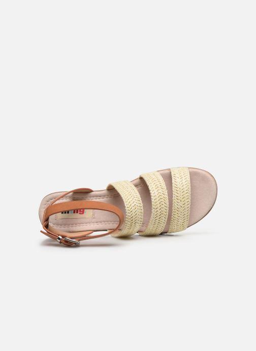 Sandales et nu-pieds MTNG 58953 Beige vue gauche