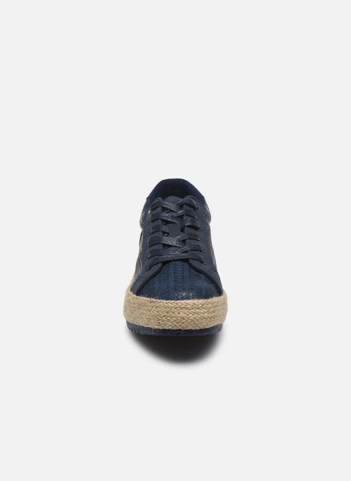 Baskets MTNG 69193 Bleu vue portées chaussures