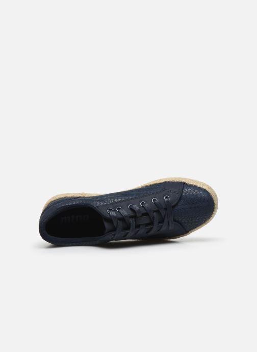 Baskets MTNG 69193 Bleu vue gauche