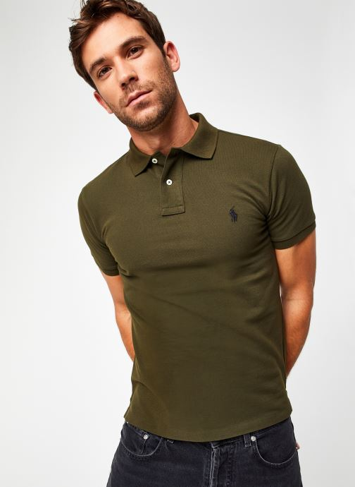 Polo MC Classic Pony Slim Stretch Mesh