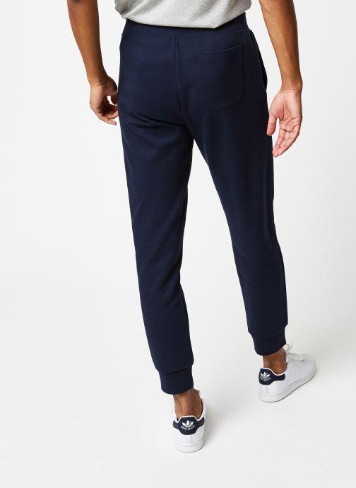 Vêtements Polo Ralph Lauren Jogging Classic Confort Pony Bleu vue portées chaussures