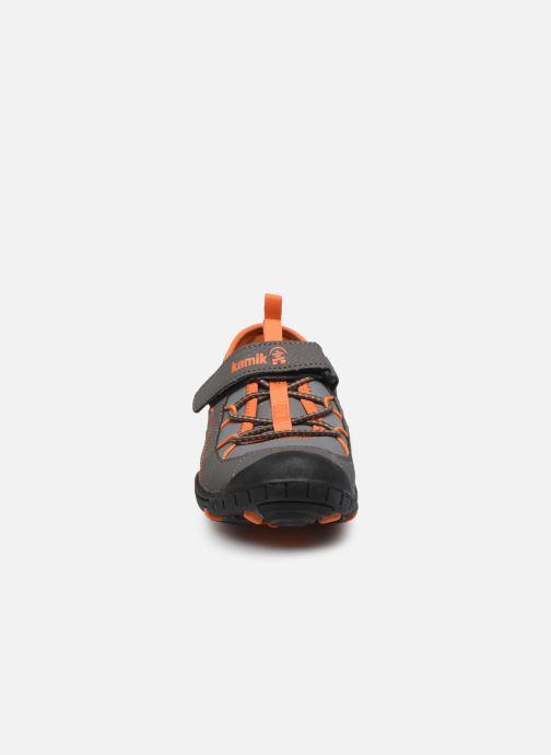 Sandales et nu-pieds Kamik Electro 2 Gris vue portées chaussures