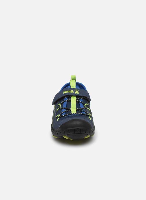 Sandali e scarpe aperte Kamik Electro 2 Azzurro modello indossato
