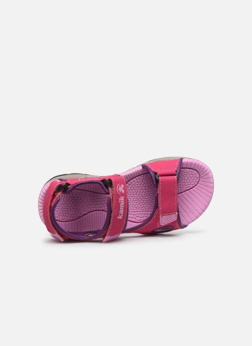 Sandalen Kamik Lobster 2 rosa ansicht von links