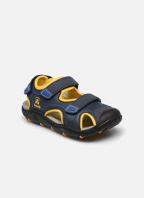 Sandales et nu-pieds Kamik Seaturtle 2 Bleu vue détail/paire