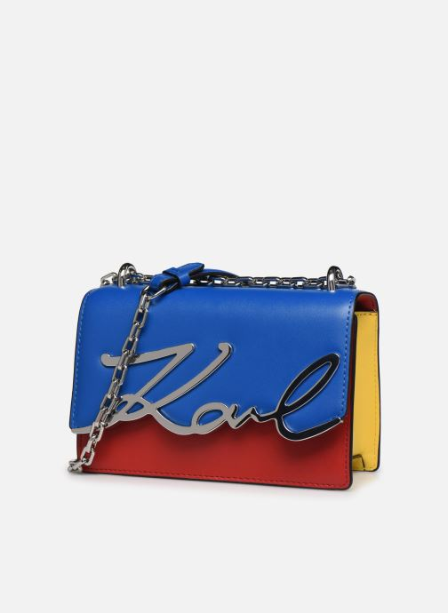 Handtaschen Karl Lagerfeld K/Signature Bauhaus Small mehrfarbig schuhe getragen