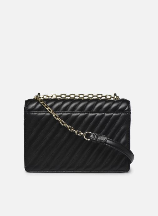 Handtaschen Karl Lagerfeld K/Signature Stitch Md Shoulderbag schwarz ansicht von vorne