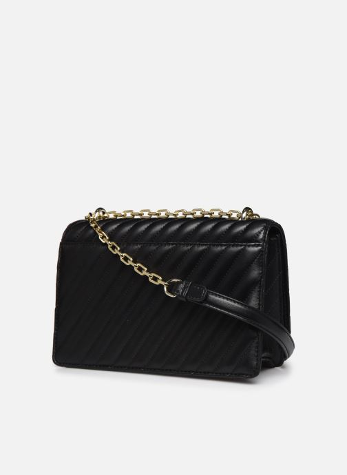 Handtaschen Karl Lagerfeld K/Signature Stitch Md Shoulderbag schwarz ansicht von rechts