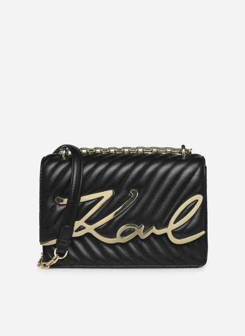 Handtaschen Karl Lagerfeld K/Signature Stitch Md Shoulderbag schwarz detaillierte ansicht/modell