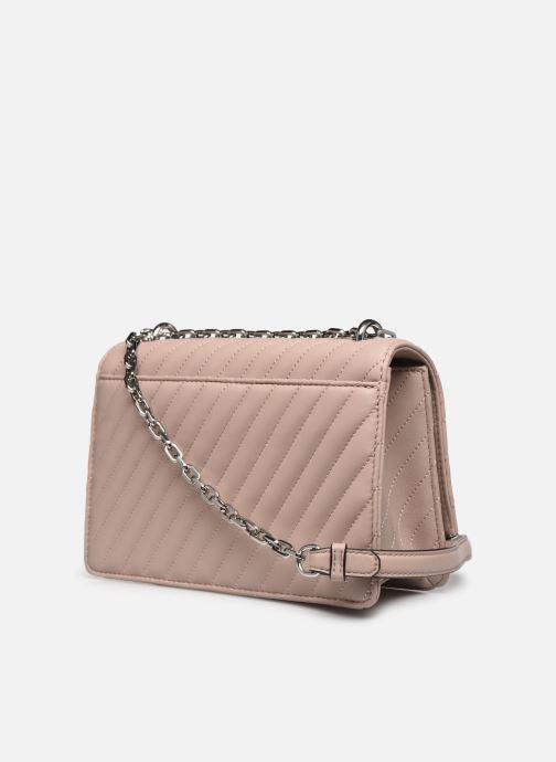 Handtaschen Karl Lagerfeld K/Signature Stitch Md Shoulderbag rosa ansicht von rechts