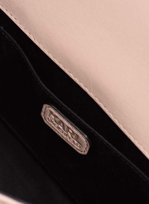 Handtaschen Karl Lagerfeld K/Signature Stitch Md Shoulderbag rosa ansicht von links