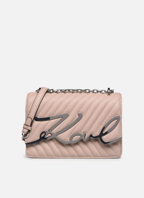 Handtaschen Karl Lagerfeld K/Signature Stitch Md Shoulderbag rosa detaillierte ansicht/modell