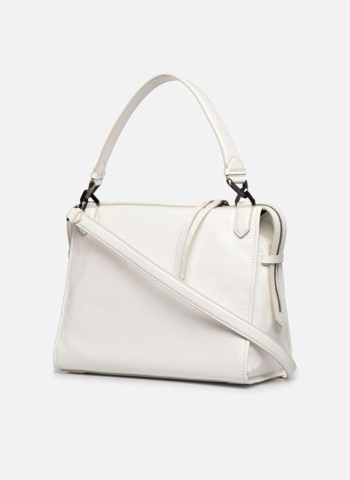 Handtaschen Karl Lagerfeld K/Slash Top Handle weiß ansicht von rechts