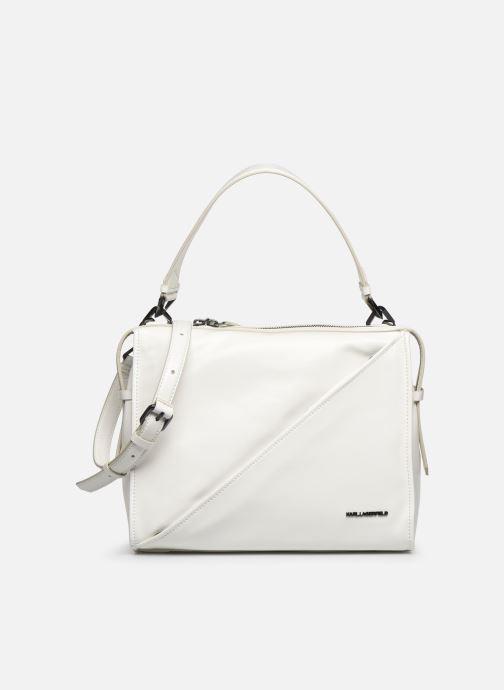 Handtaschen Karl Lagerfeld K/Slash Top Handle weiß detaillierte ansicht/modell