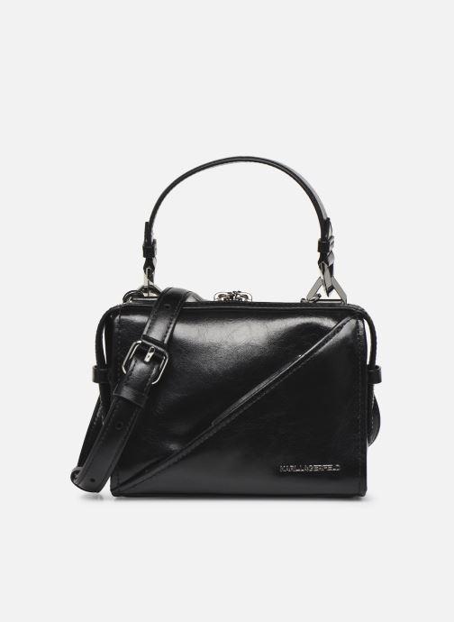 Handtaschen Karl Lagerfeld K/Slash Small Top Handle schwarz detaillierte ansicht/modell