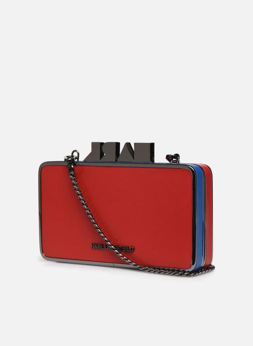 Handtaschen Karl Lagerfeld K/Bauhaus Minaudiere mehrfarbig ansicht von rechts
