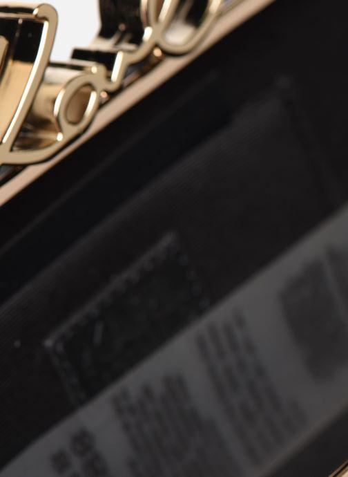 Handtaschen Karl Lagerfeld K/Signature Lock Minaudiere schwarz ansicht von hinten