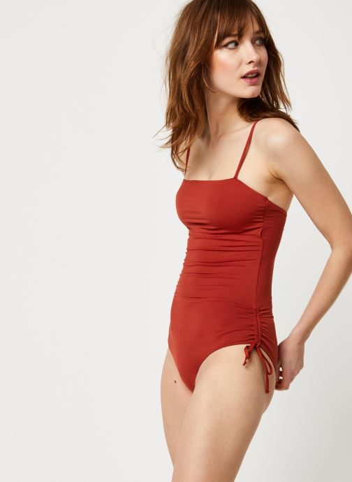 Vêtements Pieces Swimwear PCJILA Marron vue détail/paire