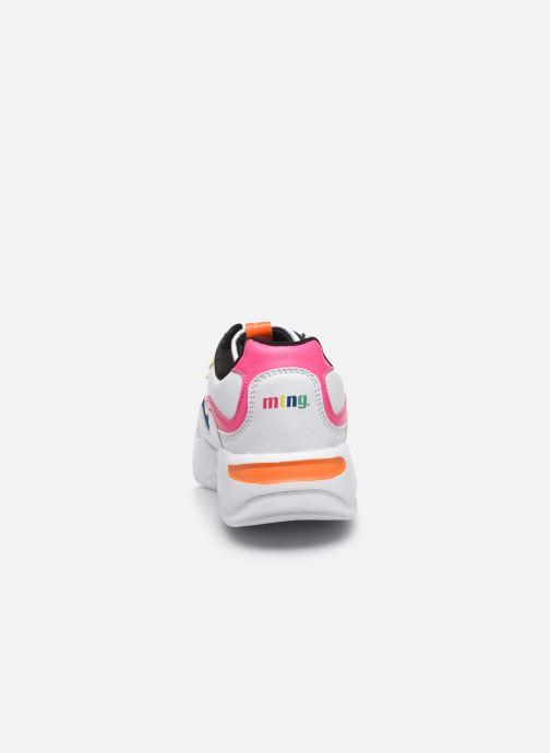 Sneaker MTNG Angie weiß ansicht von rechts