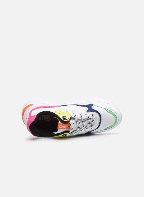 Sneaker MTNG Angie weiß ansicht von links