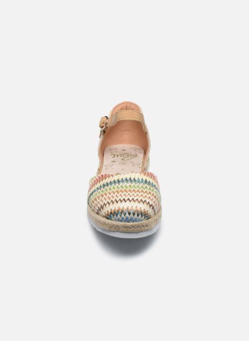 Espadrilles MTNG Pad Beige vue portées chaussures