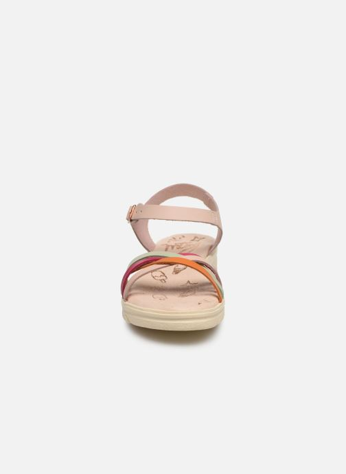Sandales et nu-pieds MTNG Iris Multicolore vue portées chaussures