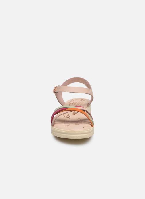 Sandalen MTNG Iris mehrfarbig schuhe getragen