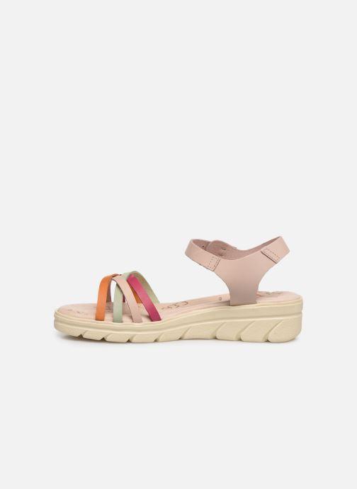 Sandales et nu-pieds MTNG Iris Multicolore vue face