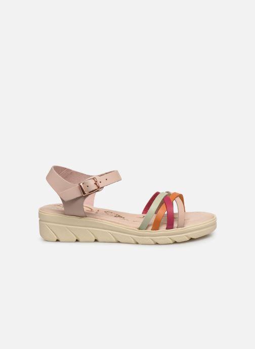 Sandales et nu-pieds MTNG Iris Multicolore vue derrière