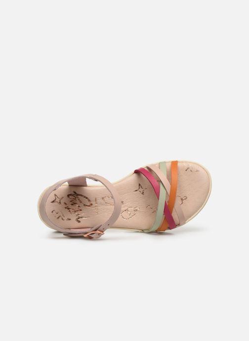 Sandalen MTNG Iris mehrfarbig ansicht von links