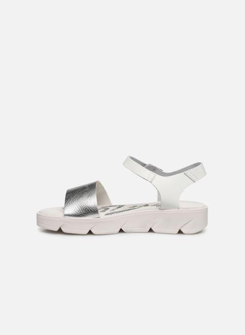 Sandales et nu-pieds MTNG Sole Blanc vue face