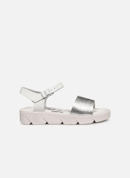 Sandales et nu-pieds MTNG Sole Blanc vue derrière