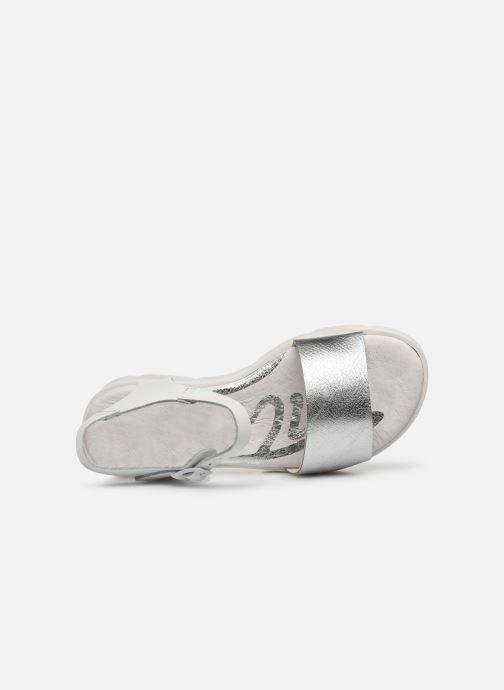 Sandales et nu-pieds MTNG Sole Blanc vue gauche