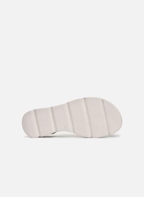 Sandalen MTNG Sole weiß ansicht von oben