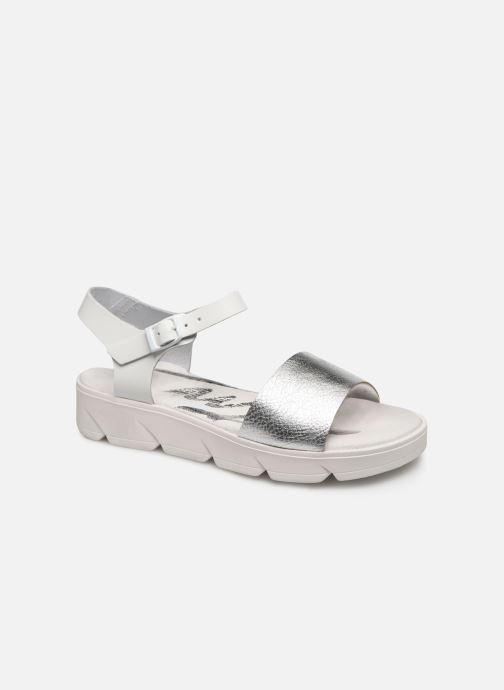 Sandales et nu-pieds MTNG Sole Blanc vue détail/paire