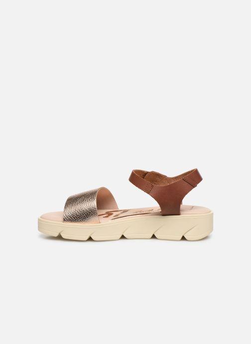 Sandalen MTNG Sole braun ansicht von vorne