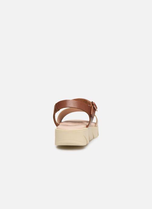 Sandali e scarpe aperte MTNG Sole Marrone immagine destra