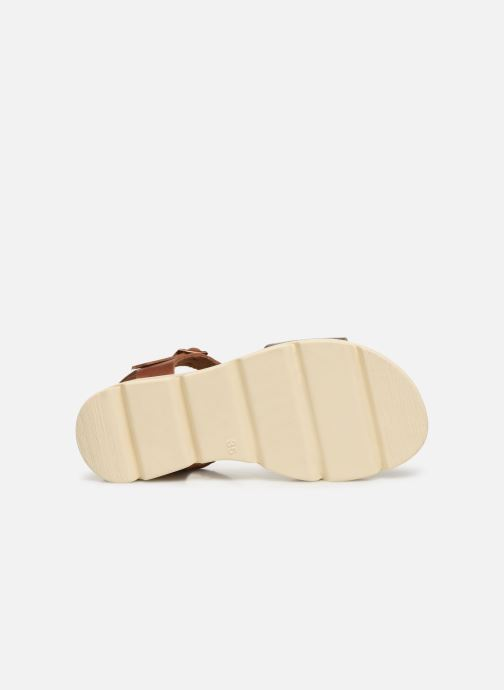 Sandalen MTNG Sole braun ansicht von oben