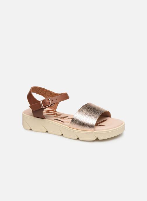 Sandaler MTNG Sole Brun detaljeret billede af skoene