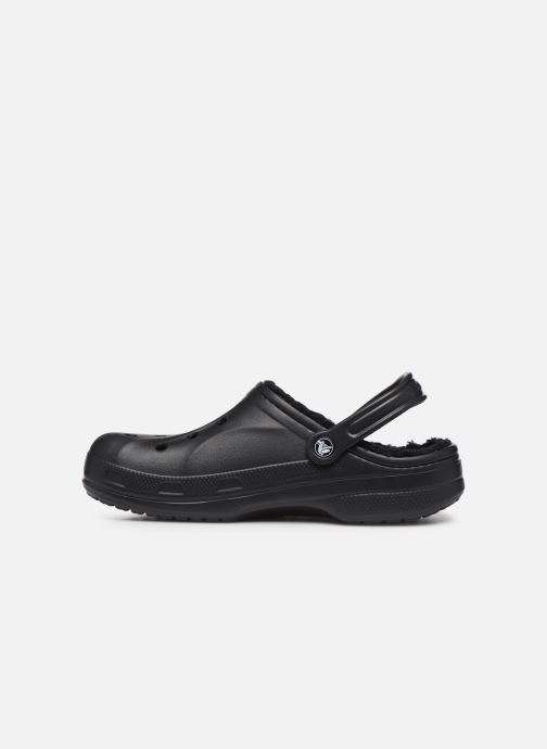 Sandali e scarpe aperte Crocs Baya Lined Clog Nero immagine frontale