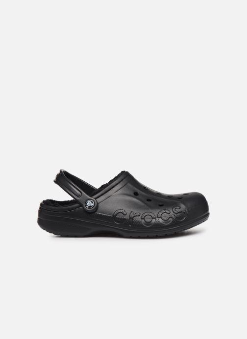 Sandals Crocs Baya Lined Clog Black back view