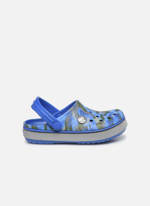 Sandales et nu-pieds Crocs Crocband Clog K Bright Bleu vue derrière