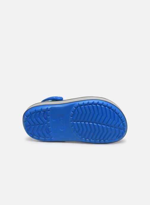 Sandales et nu-pieds Crocs Crocband Clog K Bright Bleu vue haut