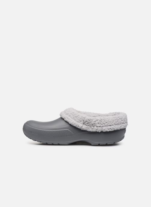 Sandales et nu-pieds Crocs Classic Blitzen III Clog Gris vue face
