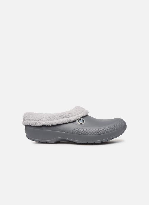 Sandals Crocs Classic Blitzen III Clog Grey back view