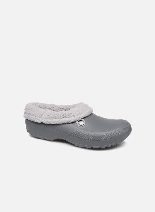 Sandals Crocs Classic Blitzen III Clog Grey detailed view/ Pair view