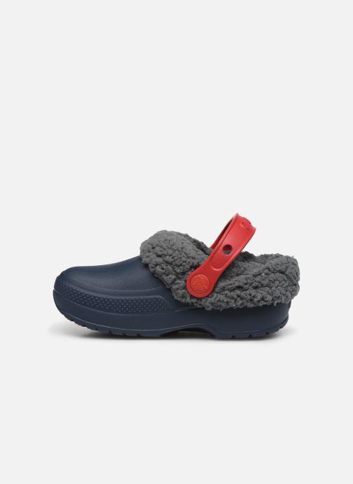 Sandales et nu-pieds Crocs Classic Blitzen III Clog K Bleu vue face