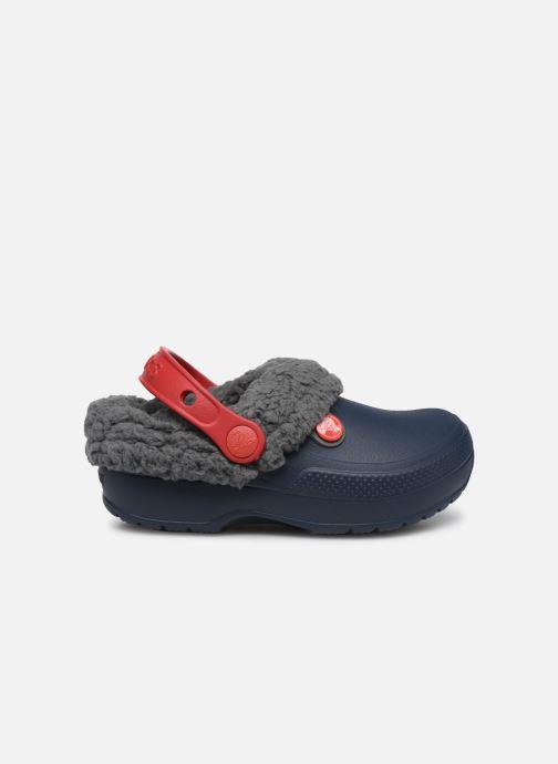 Sandales et nu-pieds Crocs Classic Blitzen III Clog K Bleu vue derrière
